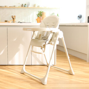 aguard 2.0 Tosby 7 段式可躺高腳餐椅- 奶油白色