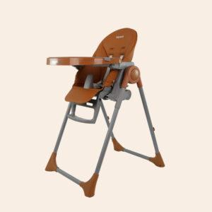aguard 2.0 Tosby 7 段式可躺高腳餐椅-焦糖色